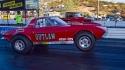 early corvette drag racing car
